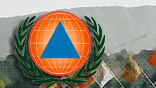 Логотип Международной организации гражданской обороны. Архивное фото