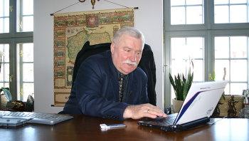 Экс-президент Польши Лех Валенса. Архивное фото
