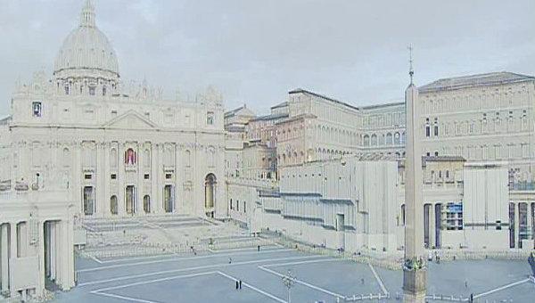 Площадь св. Петра в Ватикане, Архивное фото