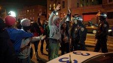 Акция протеста в Нью-Йорке, которую спровоцировало убийство полицейскими подростка
