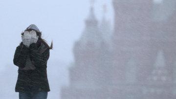 Метель в Москве