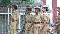 Индийская полиция. Архивное фото