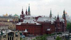 Центр Москвы, вид на Государственный Исторический музей. Архив