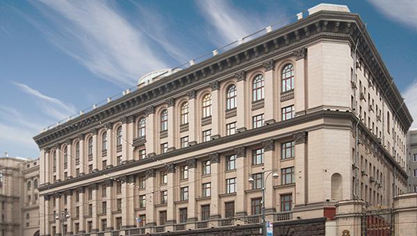 Здание Министерства образования и науки РФ. Архив