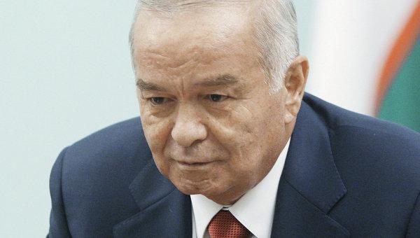 Президент Узбекистана Ислам Каримов. Архивное фото