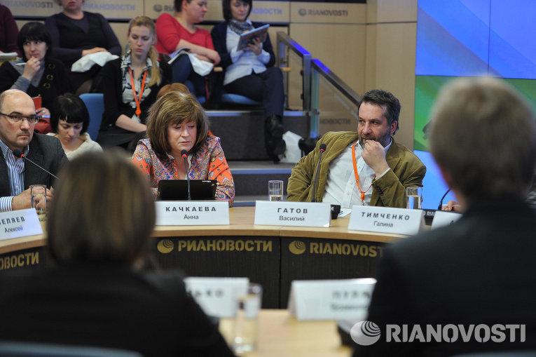 Андрей Мирошниченко, Анна Качкаева и Василий Гатов