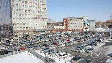 Автомобильная парковка в Новосибирске