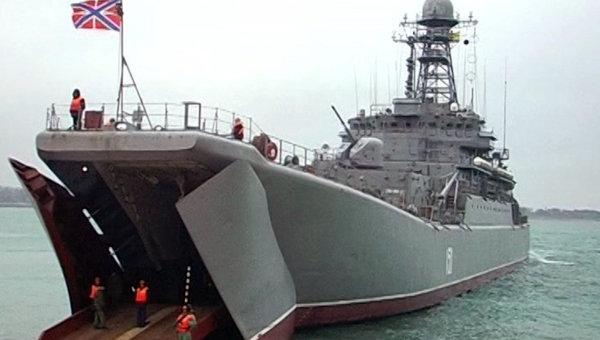 Россия начала крупномасштабные учения в районе Черного моря