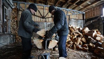 Заготовка дров. Архивное фото