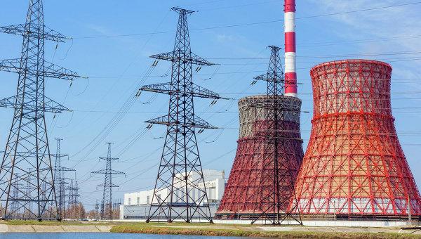 Тепловые электростанции и линии электропередач