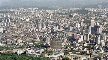 Вид на Сеул
