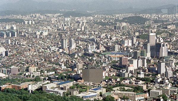 Вид на Сеул. Архивное фото