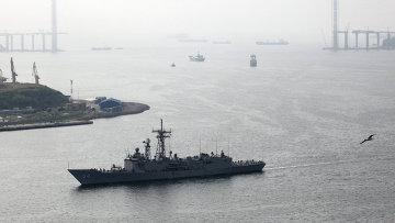 Корабль ВМС США фрегат Форд. Архив