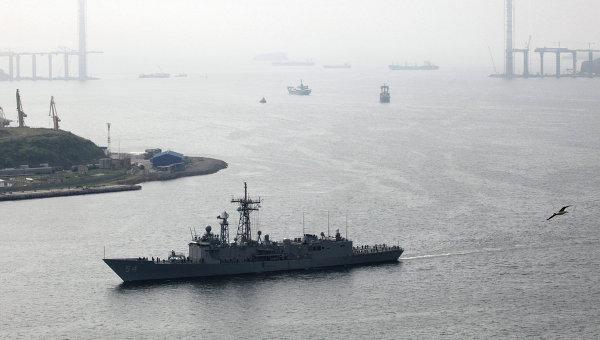 Корабль ВМС США. Архивное фото