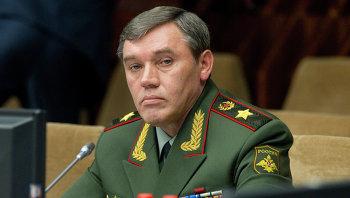 Начальник Генерального штаба Вооруженных Сил РФ, первый заместитель министра обороны РФ Валерий Герасимов. Архивное фото