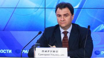 Заместитель министра культуры Григорий Пирумов. Архив