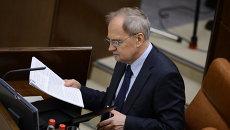 Председатель Конституционного Суда Валерий Зорькин. Архивное фото