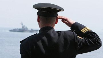 Вахтенный офицер. Архивное фото