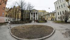 Здание киностудии Ленфильм. архивное фото