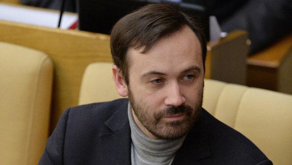 Депутат Илья Пономарев. Архивное фото