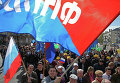Первомайская демонстрация в Калининграде