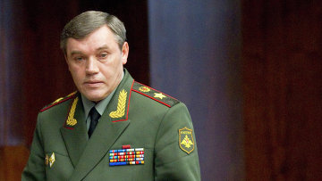 Начальник Генштаба ВС генерал армии Валерий Герасимов