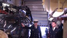 Вертолет, манекен и электронная карта: экскурсия по фрегату Вандемьер