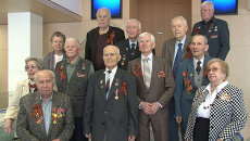 Бывшие сотрудники РИА Новости вспомнили, как отмечали победу в 1945 году