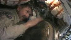 Космонавт МКС о том, как капсула перевернулась при возвращении на Землю