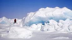 Северный полюс.Архивное фото