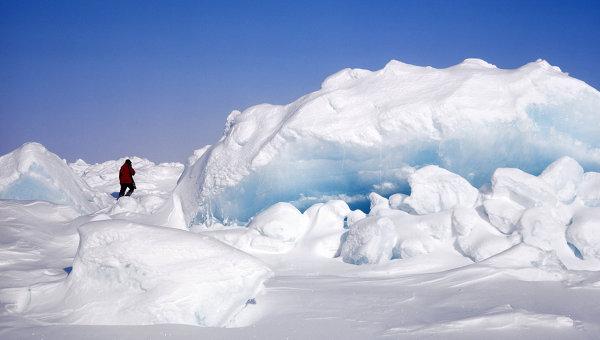 Северный полюс. Архивное фото