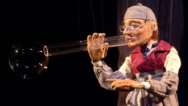 Кукольное шоу Жорди Бертрана в Московском Театре Кукол, архивное фото.