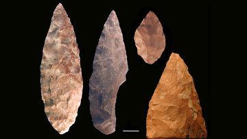 """Орудия труда, изготовленные древними жителями Южной Африки во время одной из культурных """"революций"""" 75 тысяч лет назад"""