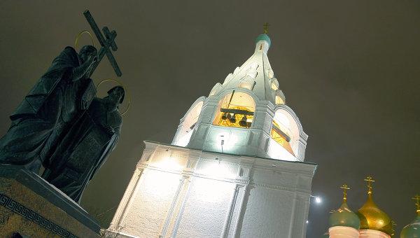 Памятник святым Кириллу и Мефодию в Коломне
