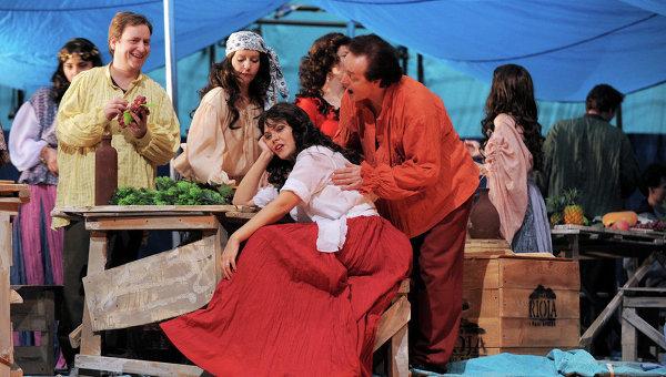 Опера Жоржа Бизе Кармен в Московском детском музыкальном театре имени Сац