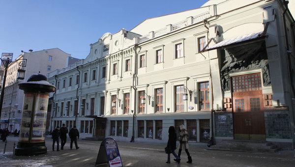 Здание Московского художественного театра имени А.П.Чехова