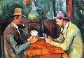 """Картина Поля Сезанна """"Игроки в карты"""" из собрания лондонского Института Курто"""