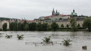 Наводнение в Праге