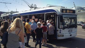 Общественный транспорт. Архив