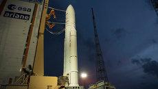 Ракета Ariane 5 на стартовой площадке. Архивное фото