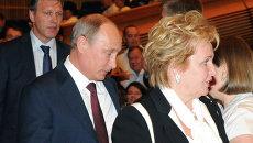 Владимир Путин с супругой посетили балет Эсмеральда