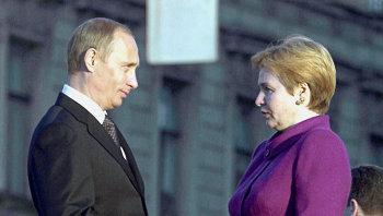 Владимир и Людмила Путины. Архив