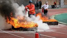 Чемпионат по пожарно-прикладному спорту во Владивостоке