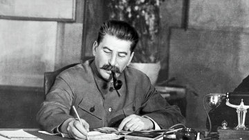 Иосиф Виссарионович Сталин. Архивное фото
