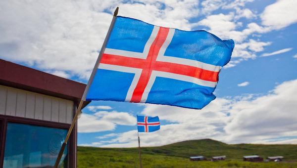 Флаг Исландии. Архивное