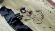 Силовики обезвредили пояса смертников с помощью гидродинамической пушки