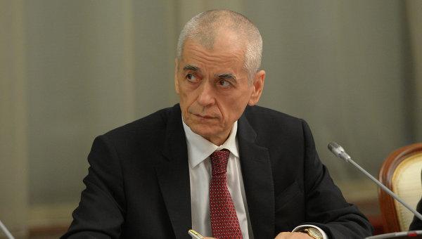 Главный государственный санитарный врач России Геннадий Онищенко. Архив