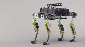 Робот Cheetah-Cub, который двигается подобно кошке