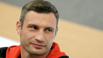 Украинский боксер Виталий Кличко. Архив