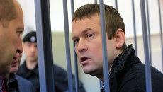 Оппозиционер Леонид Развозжаев в суде, архивное фото